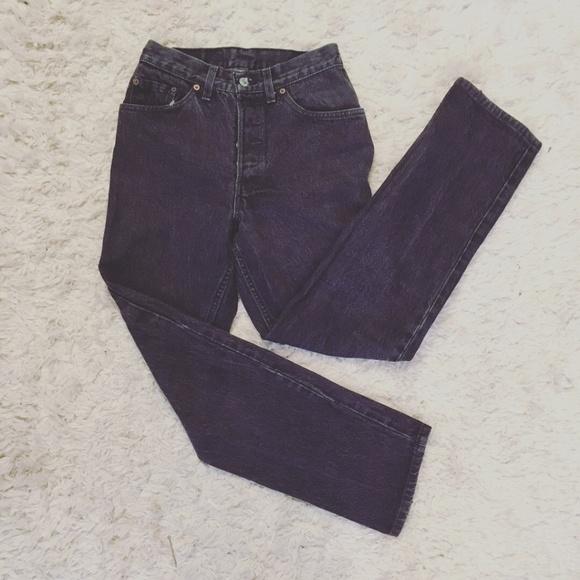 Levi S Jeans Vintage Levis Black Mom Highwaisted Poshmark